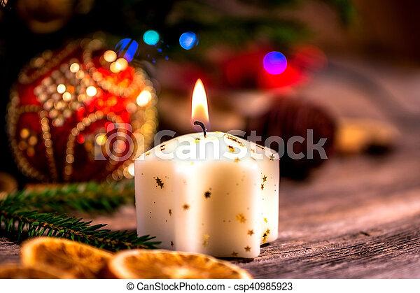 Christmas decorations - csp40985923