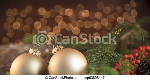 Christmas decorations - csp63895447