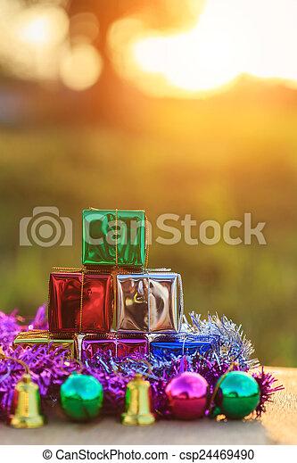 Christmas decorations - csp24469490