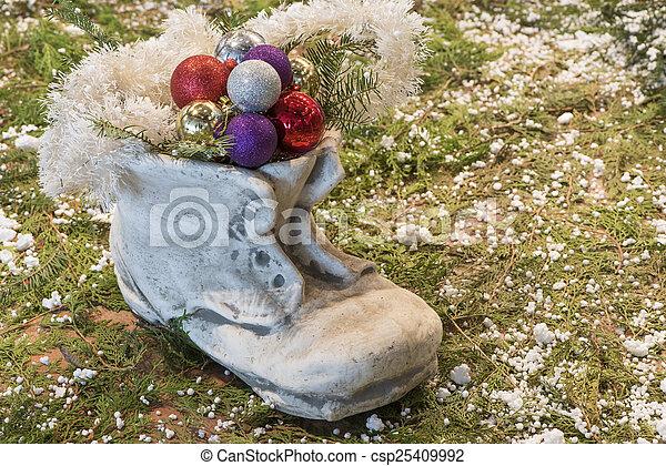 Christmas decorations - csp25409992