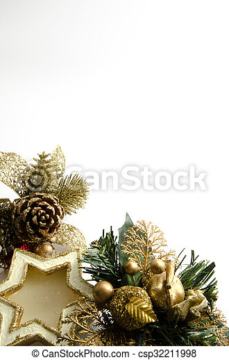 Christmas decorations - csp32211998