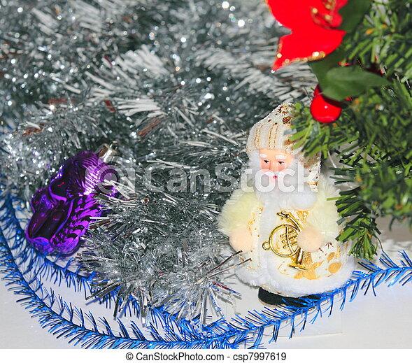 Christmas decorations - csp7997619