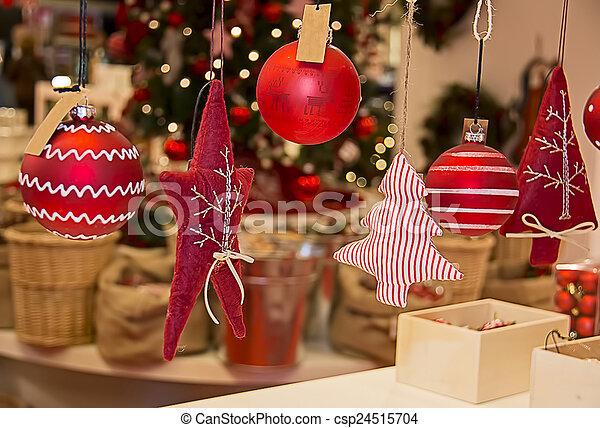 Christmas decorations - csp24515704