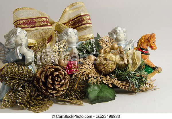 Christmas decorations - csp23499938