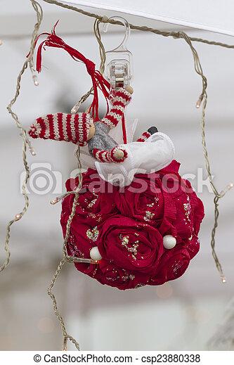 Christmas decorations - csp23880338