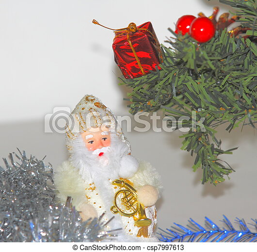 Christmas decorations - csp7997613