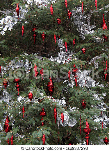Christmas decorations - csp9337293