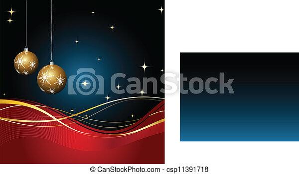 Christmas decorations - csp11391718