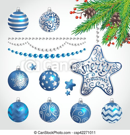 Christmas decorations - csp42271011