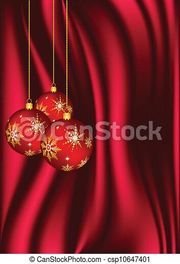Christmas decorations - csp10647401