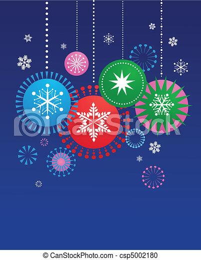Christmas decorations - csp5002180