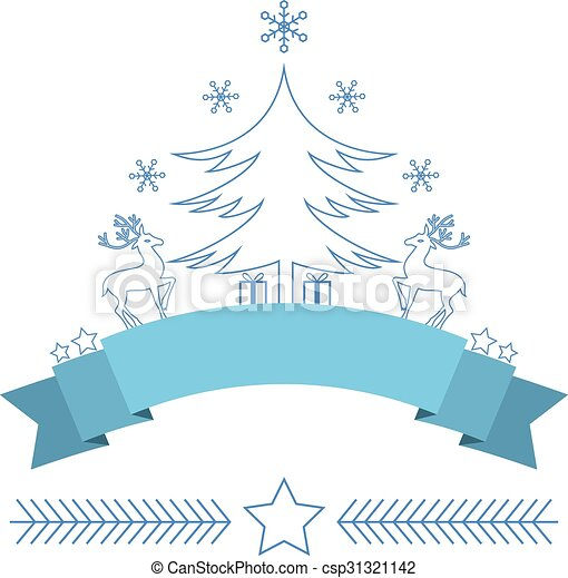 Christmas decorative design - csp31321142