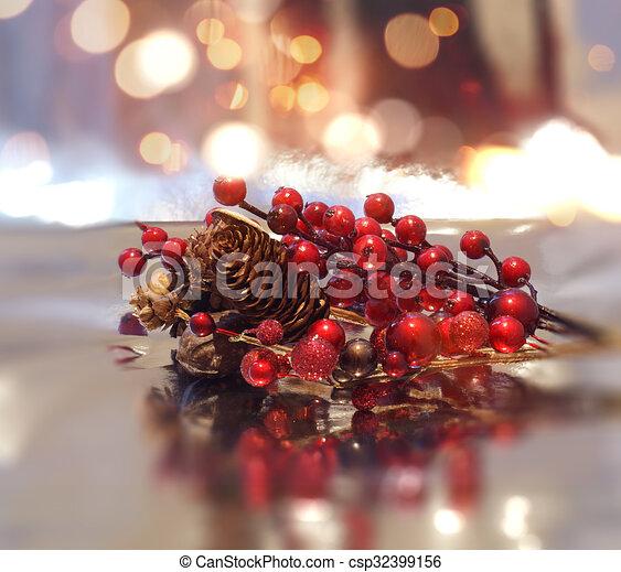 christmas dekoráció - csp32399156
