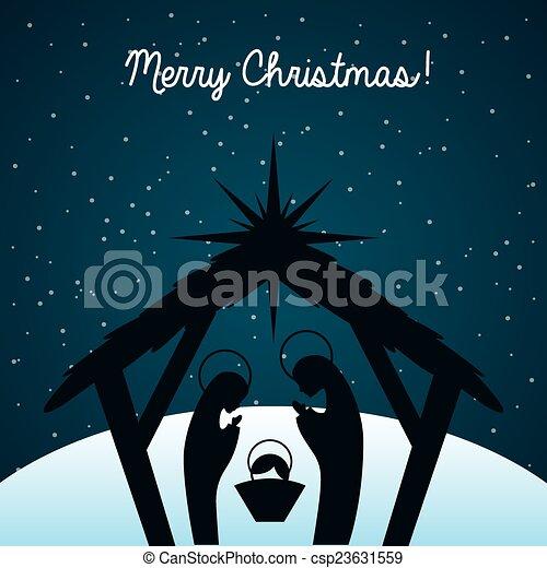 christmas design - csp23631559