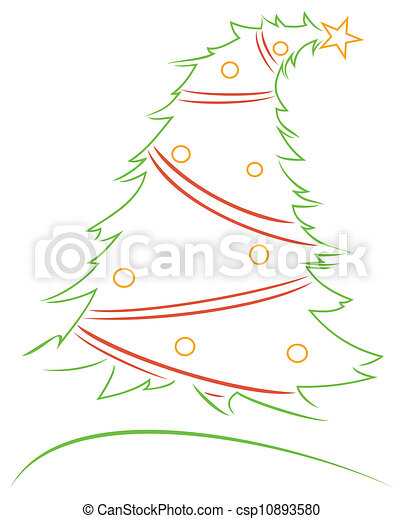Christmas design - csp10893580
