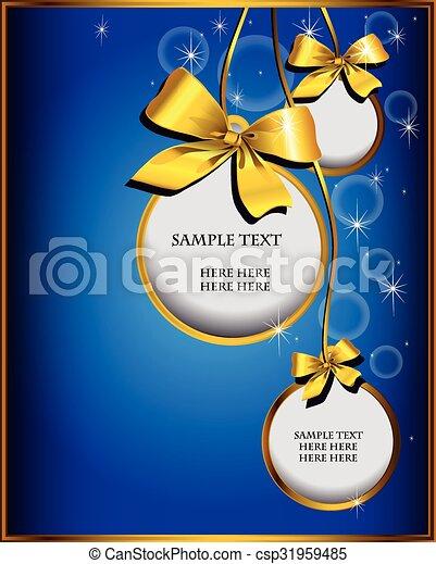 Christmas design - csp31959485