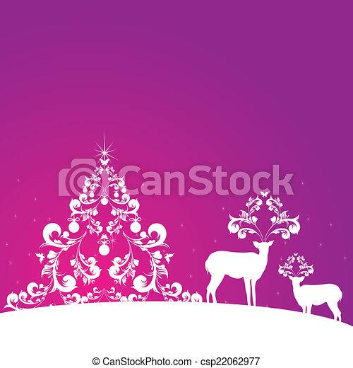 Christmas design - csp22062977