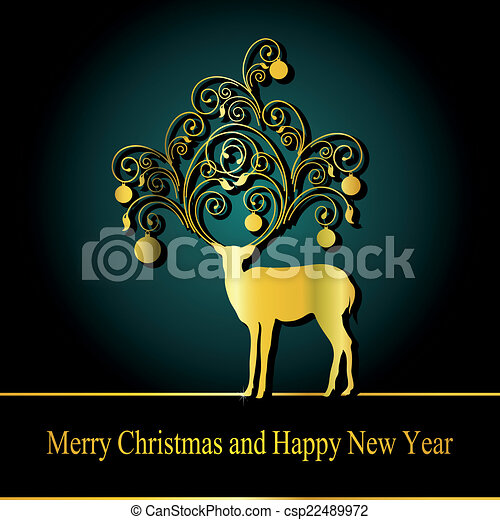 Christmas design - csp22489972