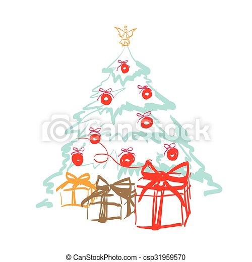 Christmas design - csp31959570