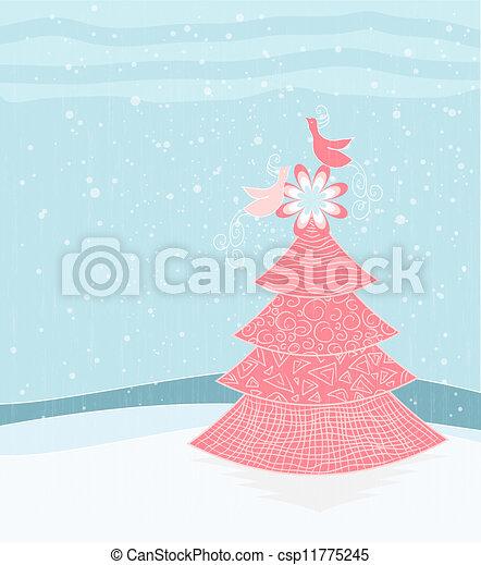 Christmas Design Tree - csp11775245