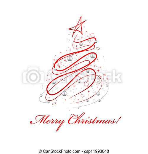 Christmas Design Tree - csp11993048