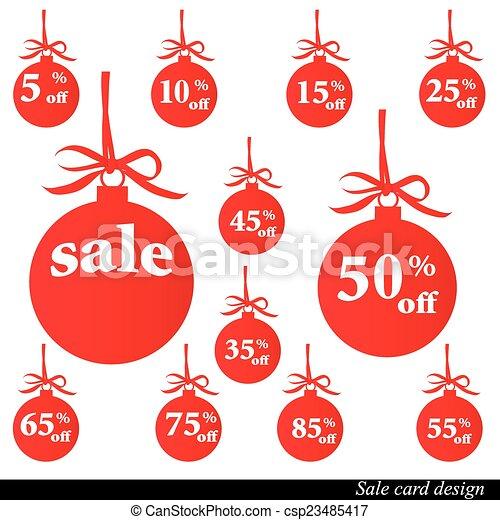 Christmas design - csp23485417