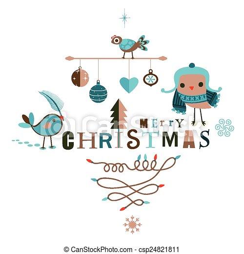 christmas design - csp24821811