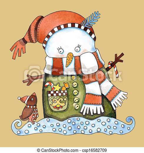 Christmas design - csp16582709