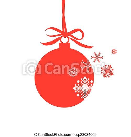 Christmas design - csp23034009