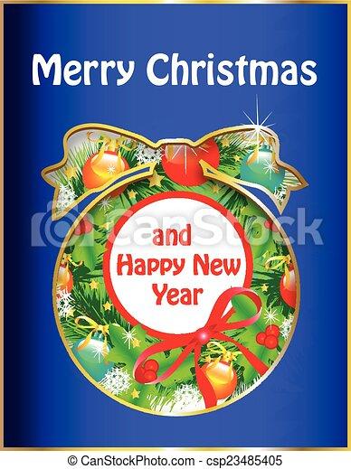 Christmas design - csp23485405