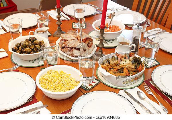 Christmas Dinner - csp18934685