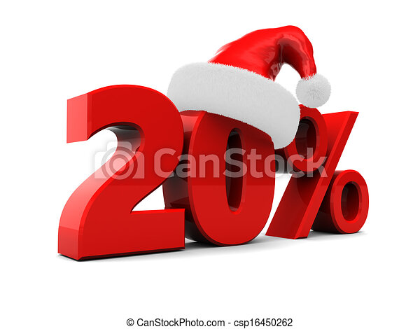 christmas discount - csp16450262