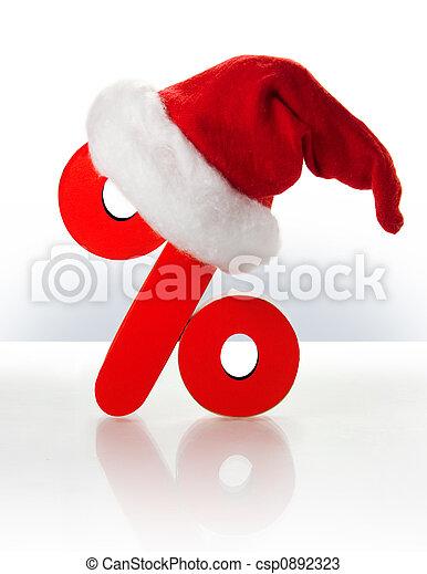 Christmas discount - csp0892323