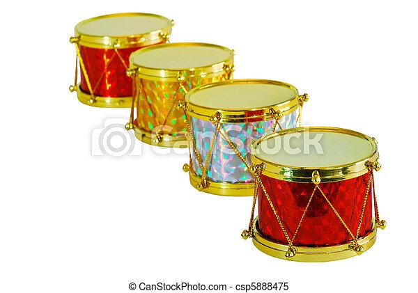 Christmas Drum.Christmas Drums