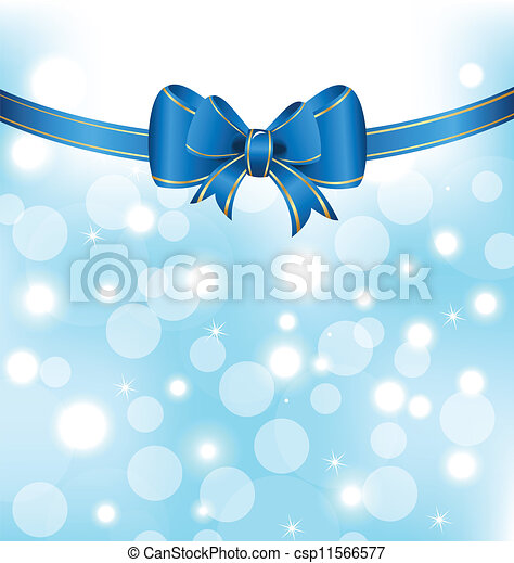 Christmas elegant packing with bow - csp11566577