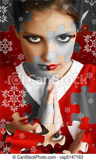 Christmas Elf Puzzle - csp5147163
