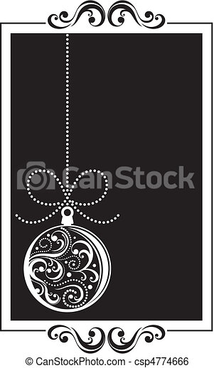 christmas frame - csp4774666