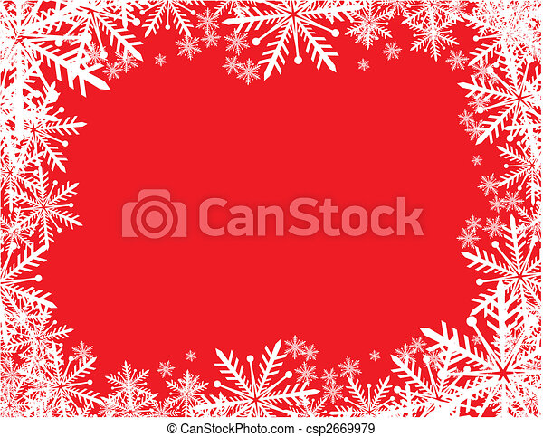 christmas frame - csp2669979