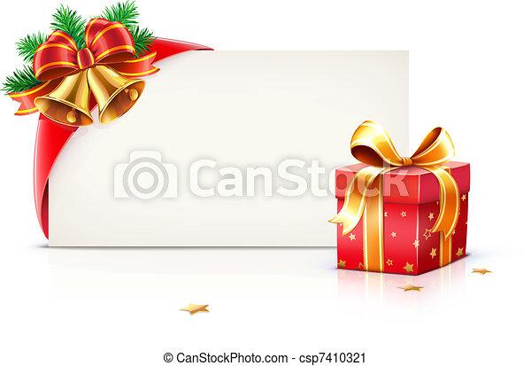 Christmas frame - csp7410321