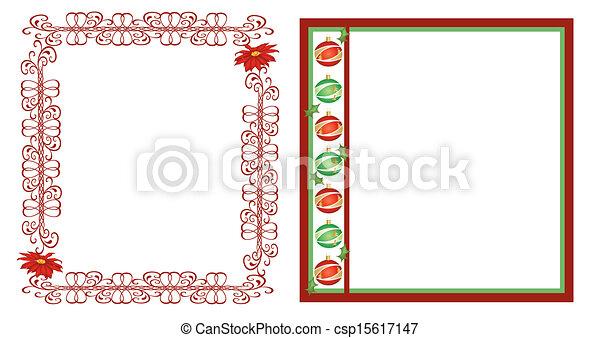 Christmas frames - csp15617147
