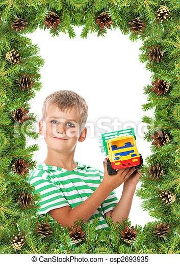 Christmas framework - csp2693935