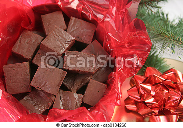 Christmas Fudge - csp0104266