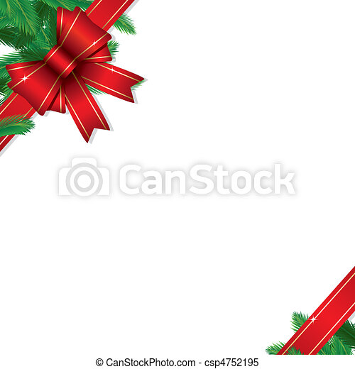 Christmas Gift Border - csp4752195
