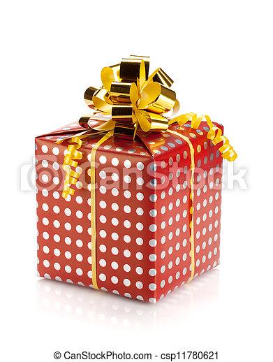 Christmas gift box - csp11780621