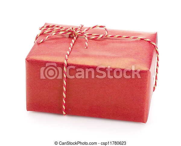 Christmas gift box - csp11780623