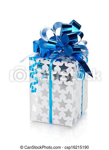 Christmas gift box - csp16215190
