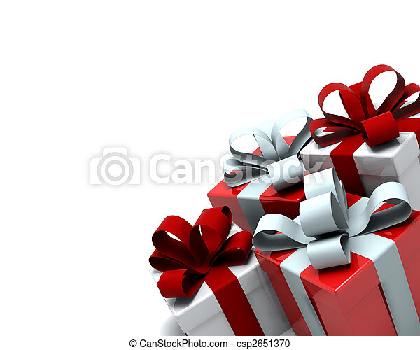 Christmas Gift Boxes - csp2651370