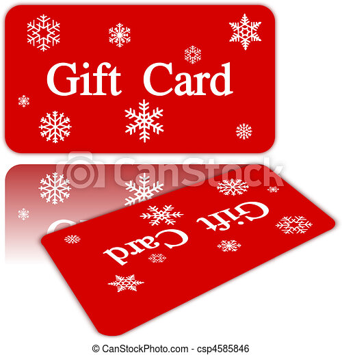 christmas gift card clip art vector search drawings and graphics rh canstockphoto com gift card clip art images gift cards clip art