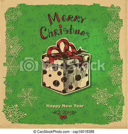 Christmas gift - csp16018388