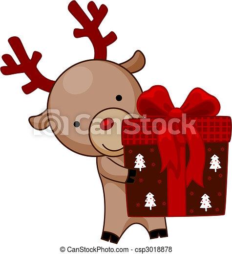 Christmas Gift - csp3018878
